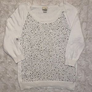 Day trip bedazzled size large sweater